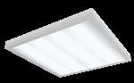 """Светодиодный светильник """"ВАРТОН"""" медицинский встраиваемый 595*595*55мм с защитным силикатным стеклом 36 ВТ 6500К класс защиты IP54 с функцией аварийного освещения V1-C0-00080-10G07-5403665"""