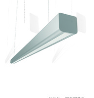 "Светодиодный светильник Mercury LED Mall ""ВАРТОН"" 1460*66*58 мм опал 44W 3000К"