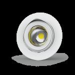 """Светильник LED """"ВАРТОН"""" DL/R встраиваемый поворотный 40° 165*125мм 30W 3000K белый (⌀155mm)"""