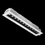 """Светодиодный светильник """"ВАРТОН"""" DL-STELLAR встраиваемый поворотный 354x62x45mm 30W 4000K 34° белый"""