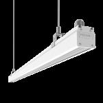 """Светодиодный светильник """"ВАРТОН"""" Mercury Mall IP54 1450x54x58 мм 89°x115° 52W 4000К белый RAL9003"""