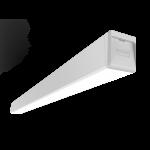 """Светодиодный светильник """"ВАРТОН"""" Q-80 подвесной/накладной 45Вт 1188х80х80мм 3000К IP40 с рассеивателем опал"""