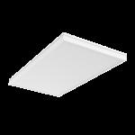 """Светодиодный светильник """"ВАРТОН"""" медицинский 1195*595*55мм с опаловым рассеивателем 72 ВТ 4000К IP54 встраиваемый"""