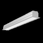 """Светодиодный светильник """"ВАРТОН"""" Universal-Line встраиваемый 1145*100*69мм 36Вт 3000К IP40 металлик"""